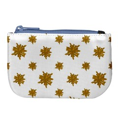 Graphic Nature Motif Pattern Large Coin Purse