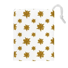 Graphic Nature Motif Pattern Drawstring Pouches (extra Large)