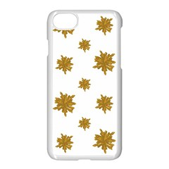 Graphic Nature Motif Pattern Apple Iphone 7 Seamless Case (white)