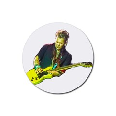 Johnny Depp Hollywood Vampires Rubber Round Coaster (4 Pack)