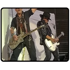 Johnny Depp Hollywood Vampires Fleece Blanket (medium)