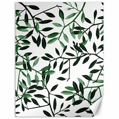 Botanical Leaves Canvas 12  X 16