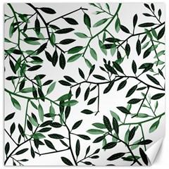 Botanical Leaves Canvas 20  X 20
