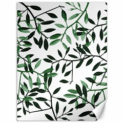 Botanical Leaves Canvas 36  X 48