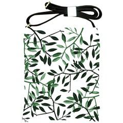 Botanical Leaves Shoulder Sling Bags