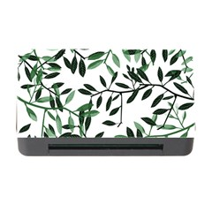 Botanical Leaves Memory Card Reader With Cf