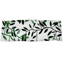 Botanical Leaves Body Pillow Case (dakimakura)