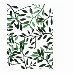 Botanical Leaves Small Garden Flag (two Sides)