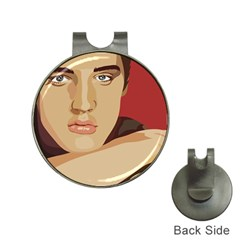 Elvis Presley Hat Clips With Golf Markers