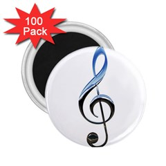 Musical Note  2 25  Magnets (100 Pack)