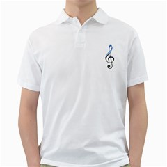 Musical Note  Golf Shirts