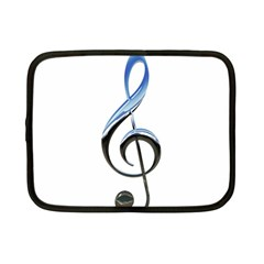 Musical Note  Netbook Case (small)