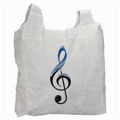 Musical Note  Recycle Bag (one Side)