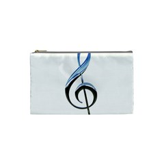 Musical Note  Cosmetic Bag (small)