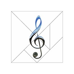 Musical Note  Acrylic Tangram Puzzle (4  X 4 )