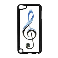 Musical Note  Apple Ipod Touch 5 Case (black)