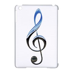 Musical Note  Apple Ipad Mini Hardshell Case (compatible With Smart Cover)