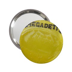 Megadeth Heavy Metal 2 25  Handbag Mirrors