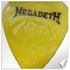 Megadeth Heavy Metal Canvas 16  X 16