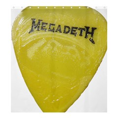 Megadeth Heavy Metal Shower Curtain 66  X 72  (large)