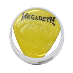 Megadeth Heavy Metal 4 Port Usb Hub (one Side)