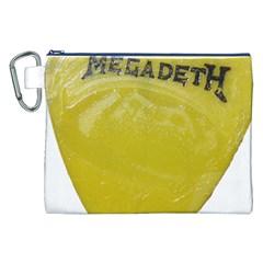 Megadeth Heavy Metal Canvas Cosmetic Bag (xxl)