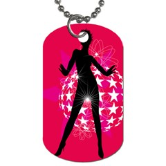 Sexy Lady Dog Tag (two Sides)