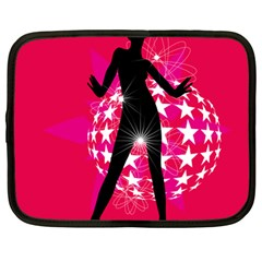 Sexy Lady Netbook Case (large)