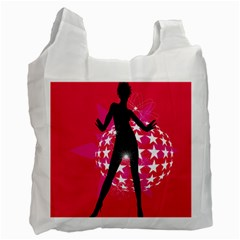 Sexy Lady Recycle Bag (one Side)
