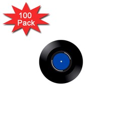 Vinyl Record 1  Mini Buttons (100 Pack)