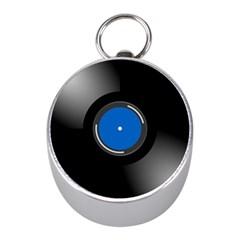 Vinyl Record Mini Silver Compasses