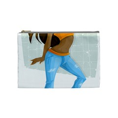 Sexy Woman Cosmetic Bag (medium)