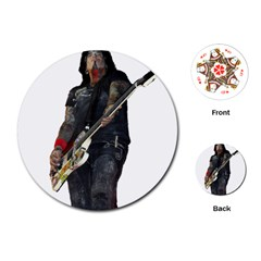 Nikki Sixx Playing Cards (round)