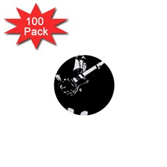 Angus Young  1  Mini Buttons (100 Pack)
