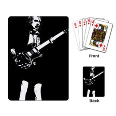 Angus Young  Playing Card