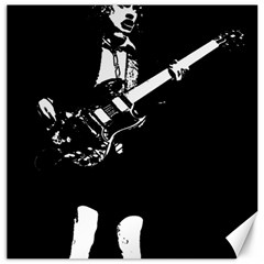 Angus Young  Canvas 20  X 20