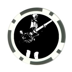 Angus Young  Poker Chip Card Guard