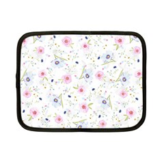 Floral Cute Girly Pattern Netbook Case (small)