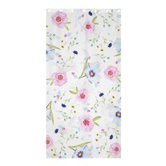 Floral Cute Girly Pattern Shower Curtain 36  X 72  (stall)