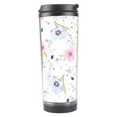 Floral Cute Girly Pattern Travel Tumbler