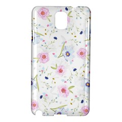 Floral Cute Girly Pattern Samsung Galaxy Note 3 N9005 Hardshell Case