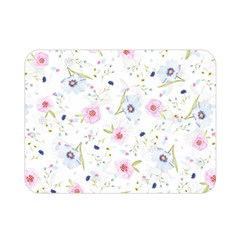 Floral Cute Girly Pattern Double Sided Flano Blanket (mini)