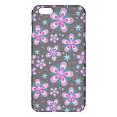 Seamless Pattern Purple Girly Floral Pattern Iphone 6 Plus/6s Plus Tpu Case
