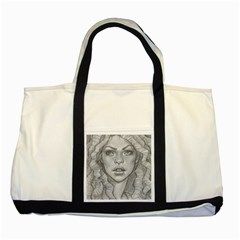 Dreaded Princess  Two Tone Tote Bag