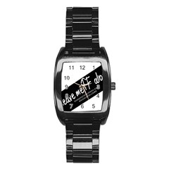 1501923289471 Stainless Steel Barrel Watch