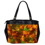 Squiggly Abstract F Office Handbags (2 Sides)  Back