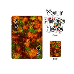 Squiggly Abstract F Playing Cards 54 (mini)