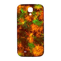Squiggly Abstract F Samsung Galaxy S4 I9500/i9505  Hardshell Back Case