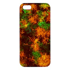 Squiggly Abstract F Iphone 5s/ Se Premium Hardshell Case