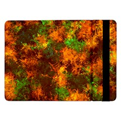 Squiggly Abstract F Samsung Galaxy Tab Pro 12 2  Flip Case